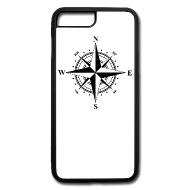 190x190 Compass Rose Black Amp White Iphone 7 Plus8 Plus Case Spreadshirt