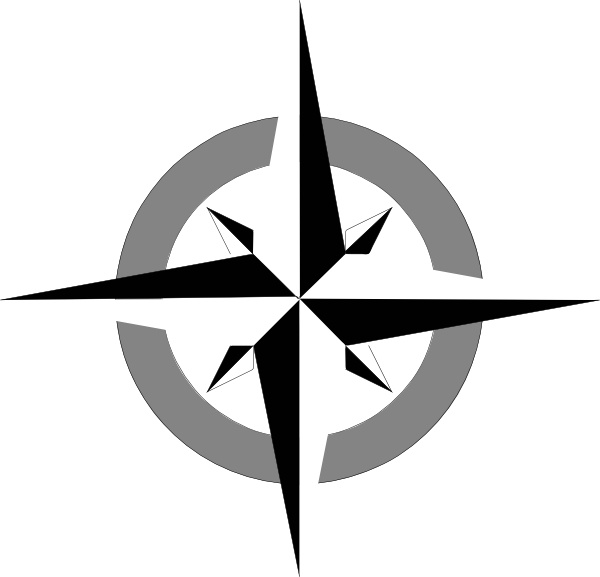 600x577 Compass Rose Clip Art Free Vector In Open Office Drawing Svg