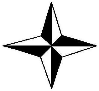 316x290 Compass Clipart Cardinal Direction