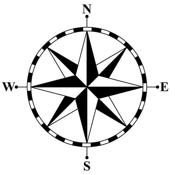 564x564 Steampunk Clipart Compass Rose