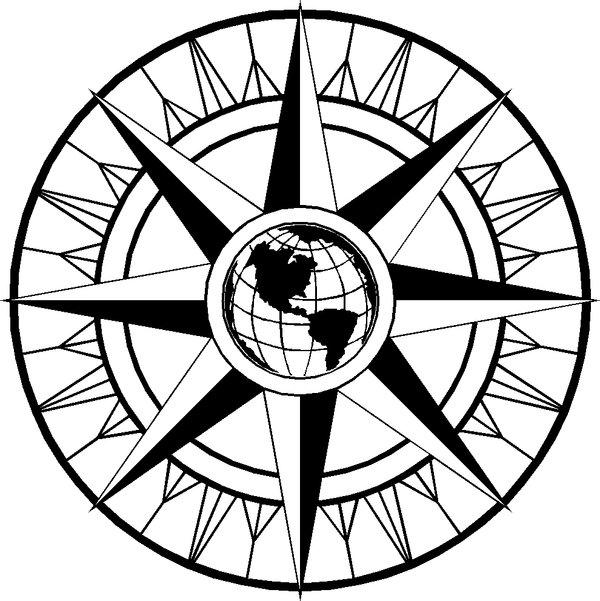 600x601 Compass Rose 2 By Zigidyz