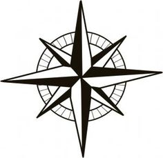 236x229 Compass Rose Sketch By Tat Board