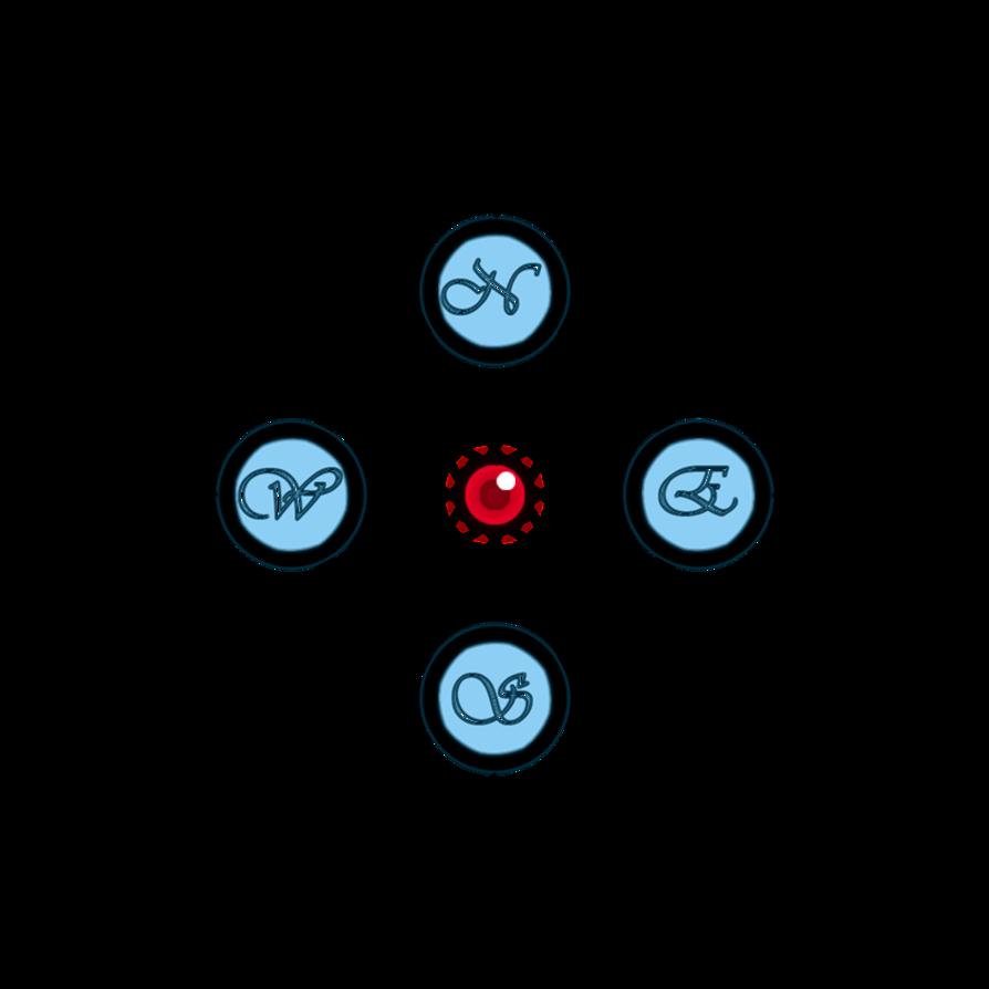 894x894 Compass Rose
