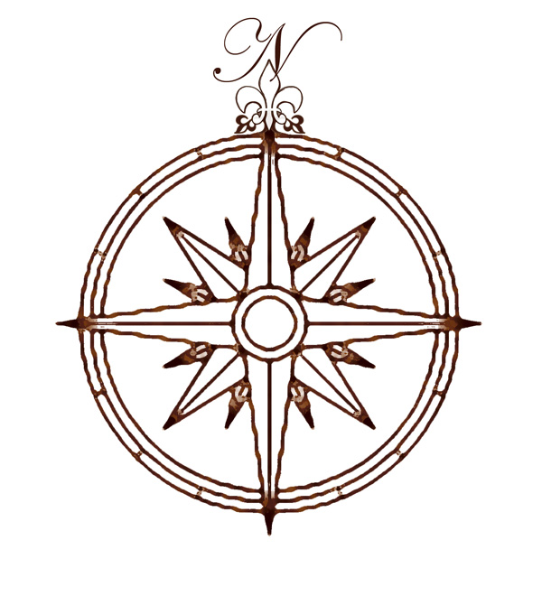 600x660 A Compass Rose Is A Circle Showing The Principal Directions