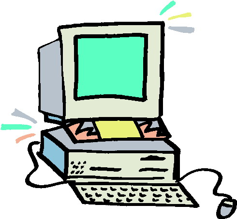 490x453 Computer Clipart Images