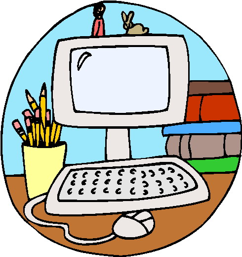 490x519 Computer Class Clipart Free Images