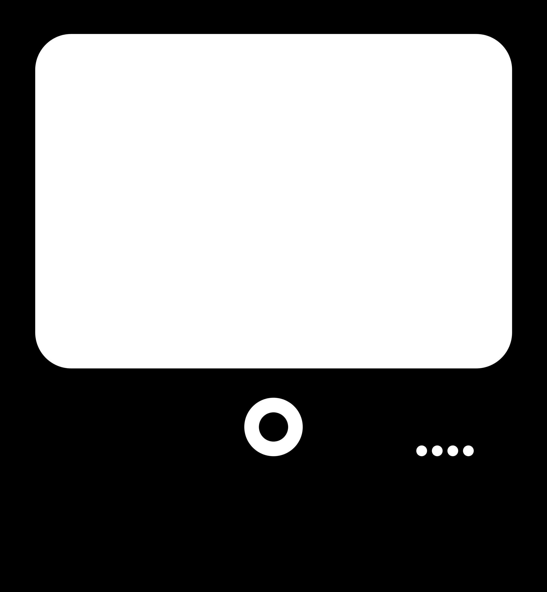2219x2400 Computer Screen Clipart