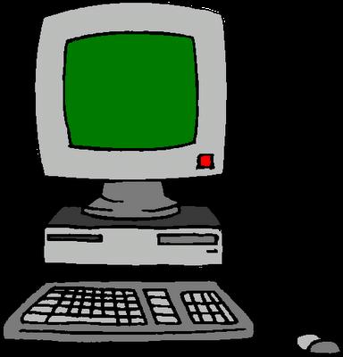 384x400 computer clipart Clipart Panda