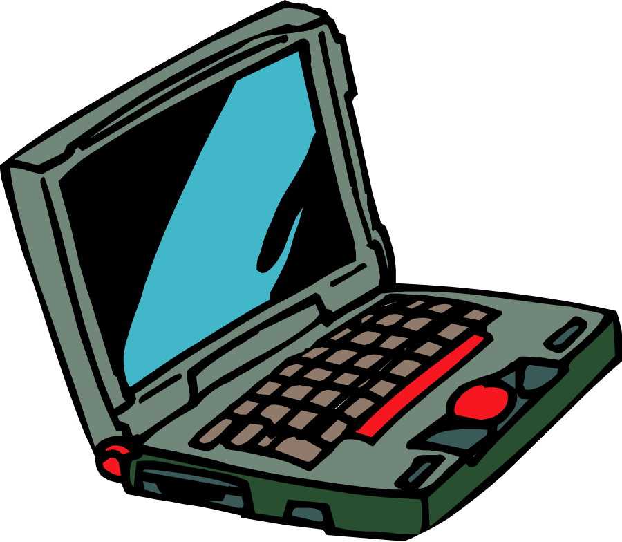 900x784 Computer Clipart Images