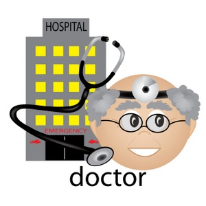 300x300 Free Hospital Clipart Image 0515 1001 3118 4509 Computer Clipart