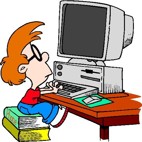 490x487 Clip Art Computer