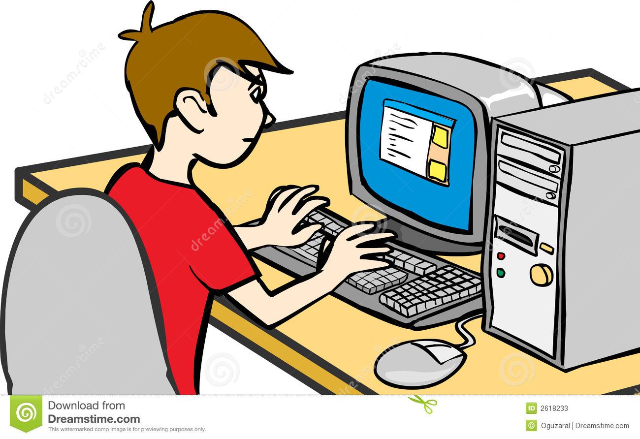 1300x892 Homework clipart computer