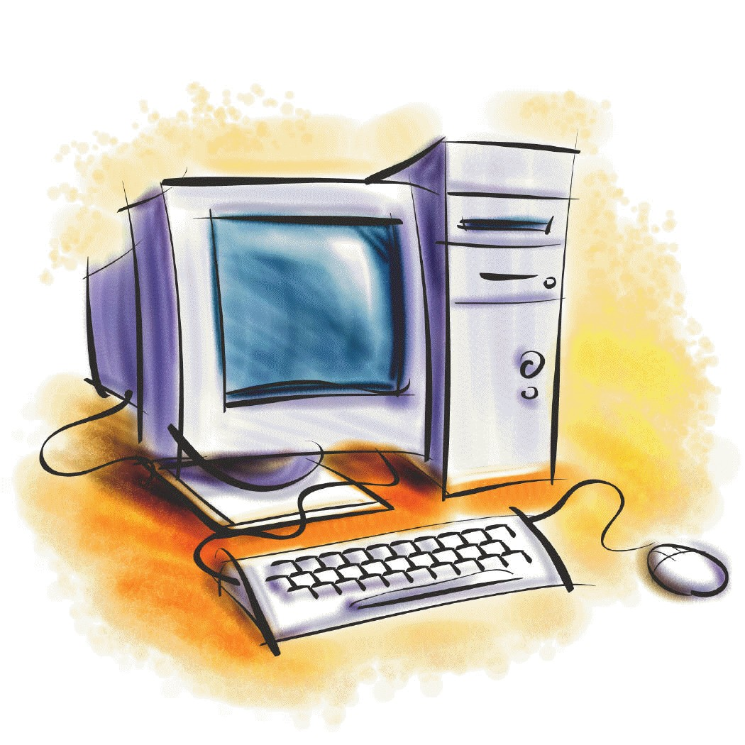 1050x1050 Clipart images of computers