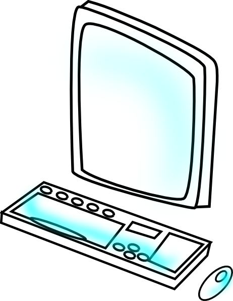 462x597 Free Computer Clipart