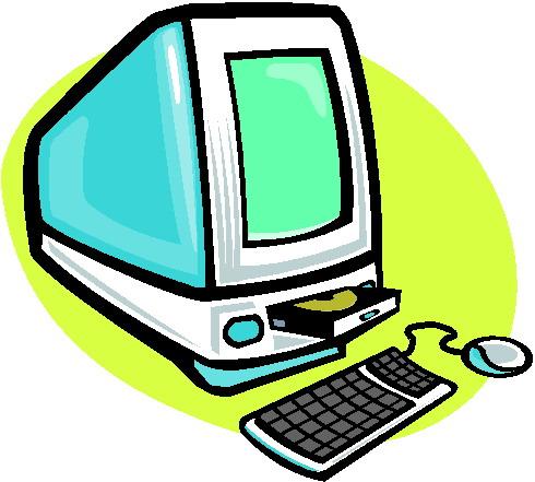 490x441 Free Desktop Computer Clipart Image