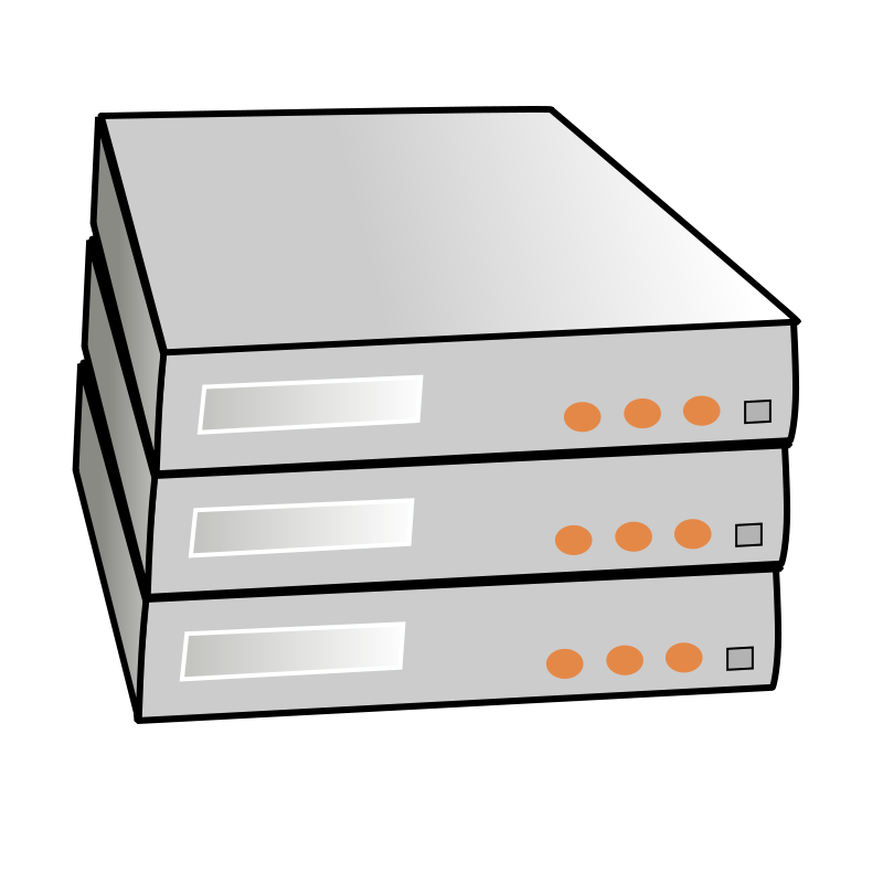 800x800 Computer Server Clipart