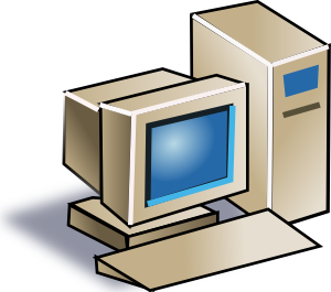 300x265 Personal Computer Clip Art