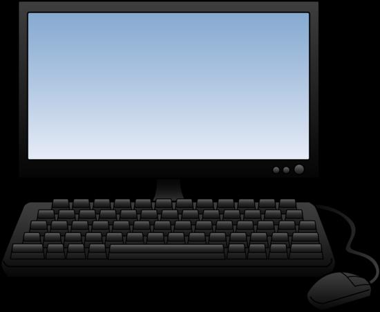 550x451 Computer Clipart Free Computer Clip Art Images