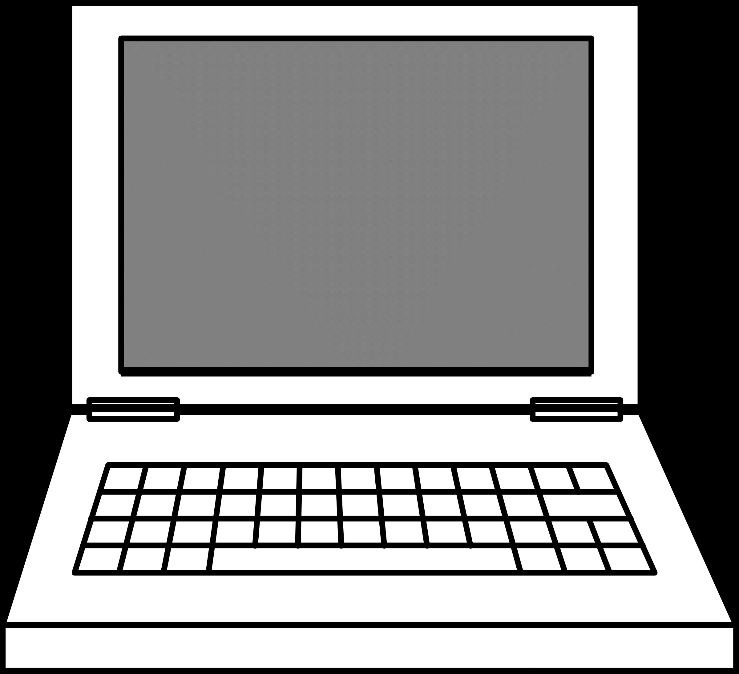 2400x2190 Computer Cliparts