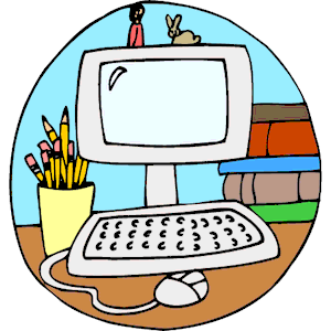 300x300 Computer Clipart Free