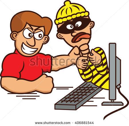 450x440 Hacker clipart computer worker
