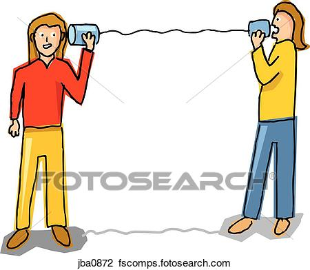 450x392 Clip Art Of Two Computers Shaking Hands Jba0872