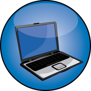300x300 Computer Clipart Image