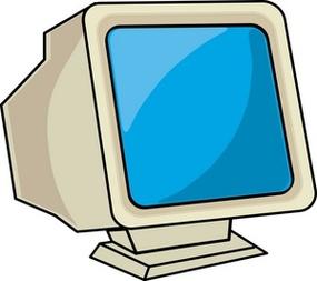 285x253 Computer Monitor Clip Art