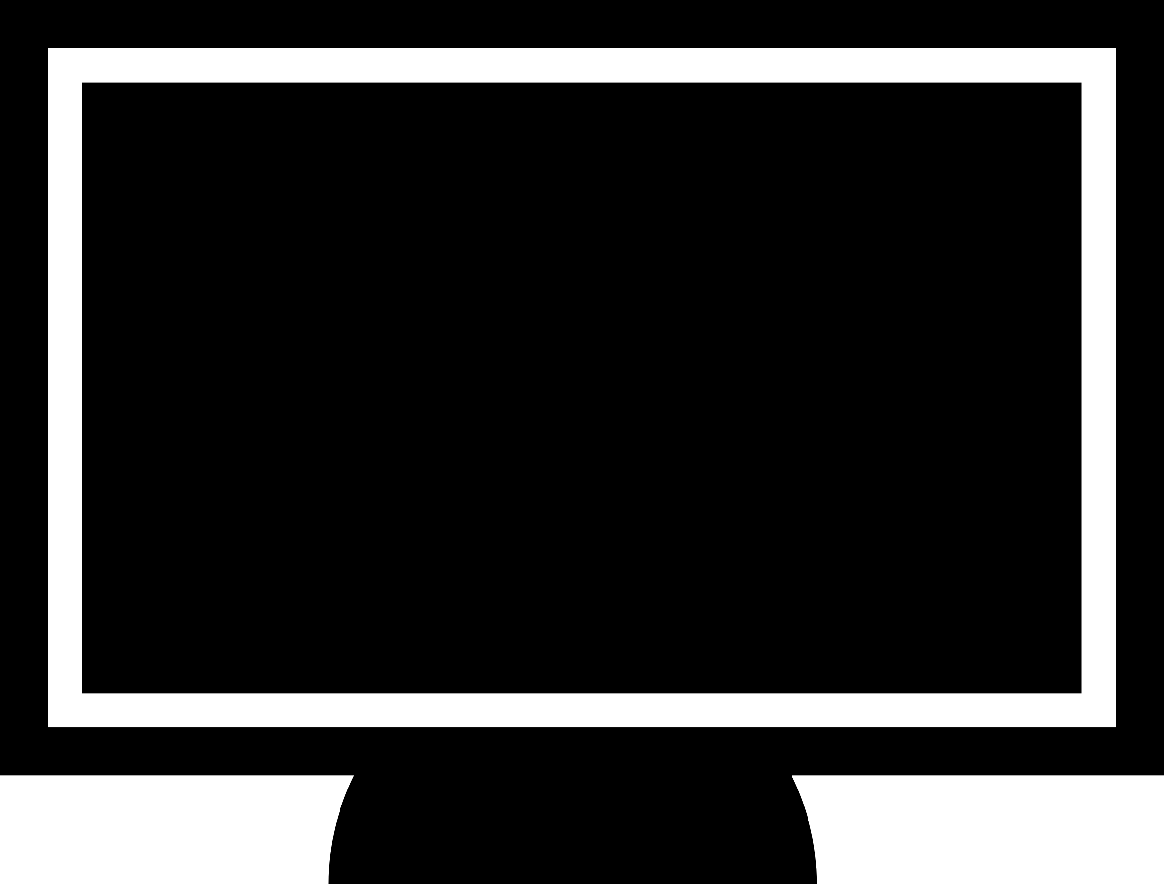 2400x1824 Screen Clipart Computer Screen