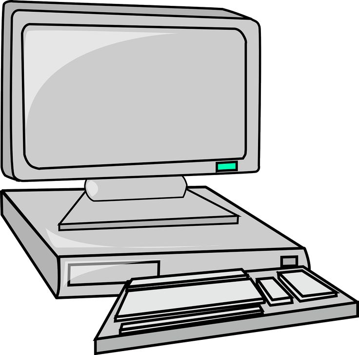 Computer Printer Clipart