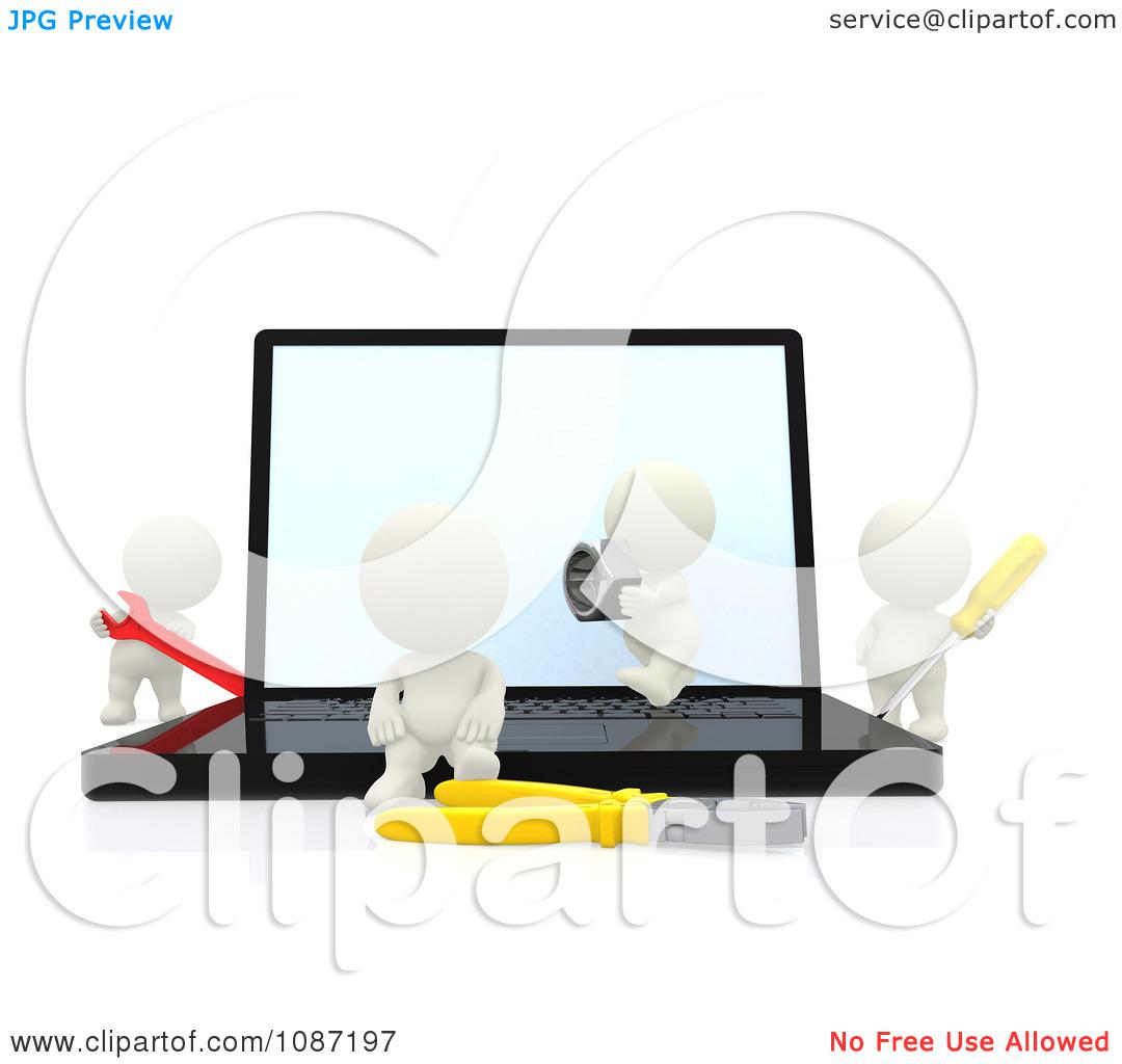 Computer Repair Clipart | Free download best Computer ...Computer Repair Clip Art Black And White