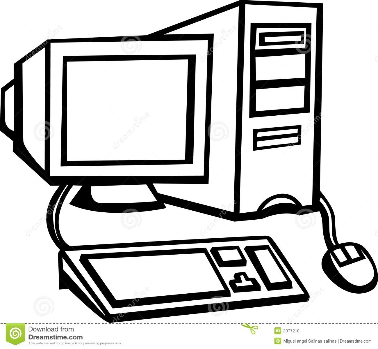 1300x1198 Top 85 Computer Clip Art