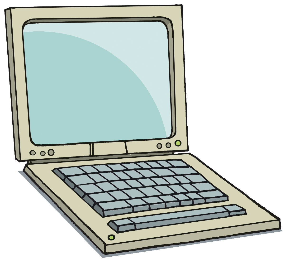 1200x1089 Computer Laptop Clipart
