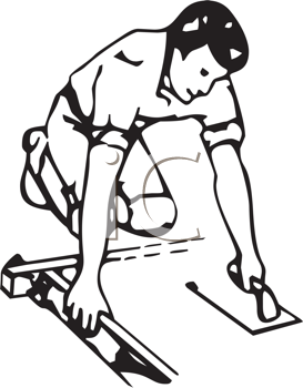 273x350 Clipart Of Concrete Finishing