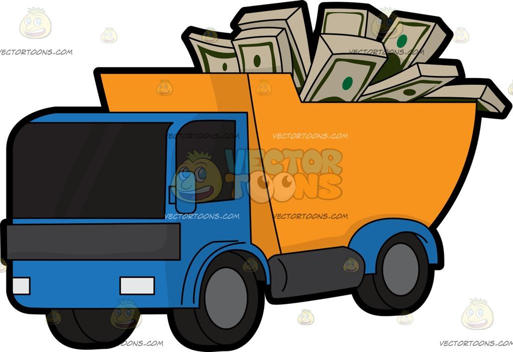 1024x702 Truck Clipart Money