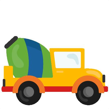 432x432 Vehicle Clipart Cement Truck