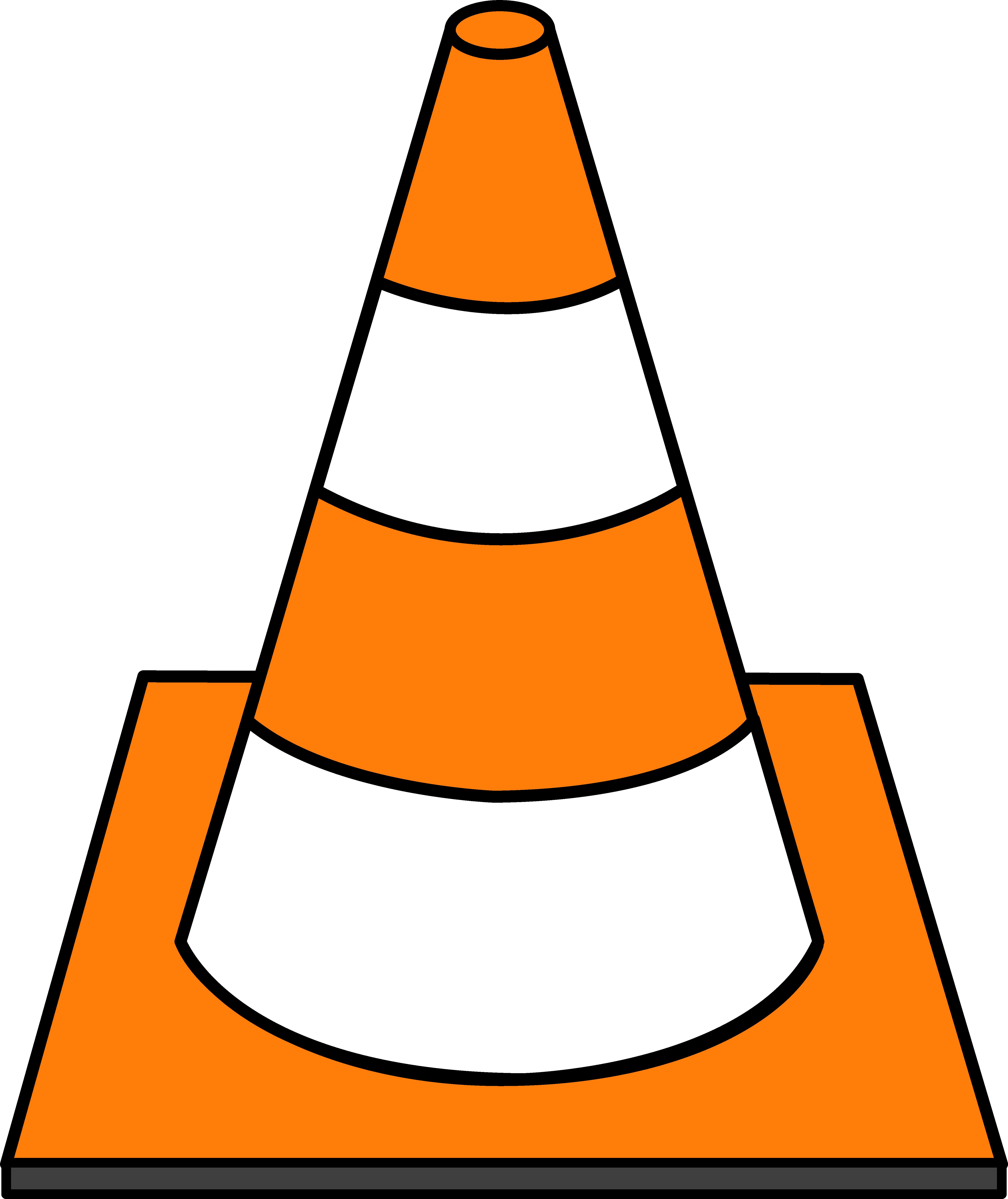 5199x6184 Striped Traffic Cone
