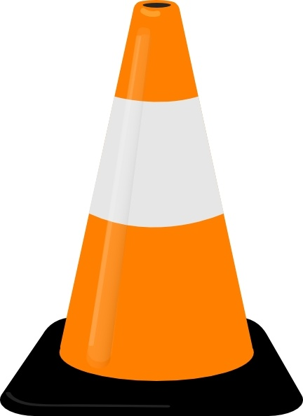 432x594 Traffic Cone Clip Art Free Vector In Open Office Drawing Svg