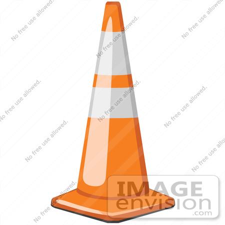 450x450 Cliprt Graphic Of Safety Road Traffic Cone On The Street In