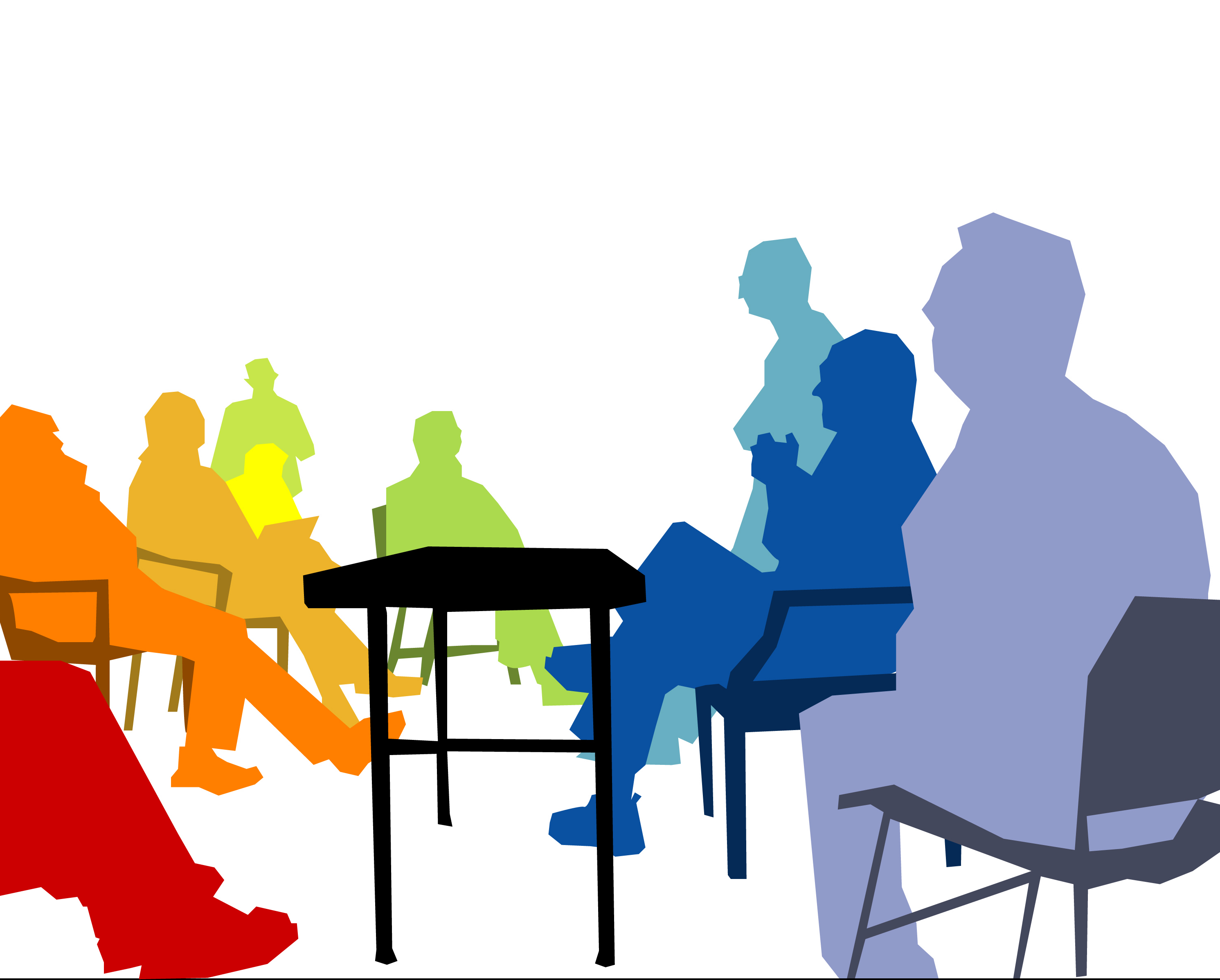 2982x2396 Conference Clipart