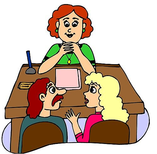 500x492 Parent Teacher Conference Clipart