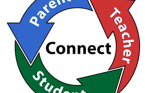 500x321 Parent Teacher Student Conference Clipart