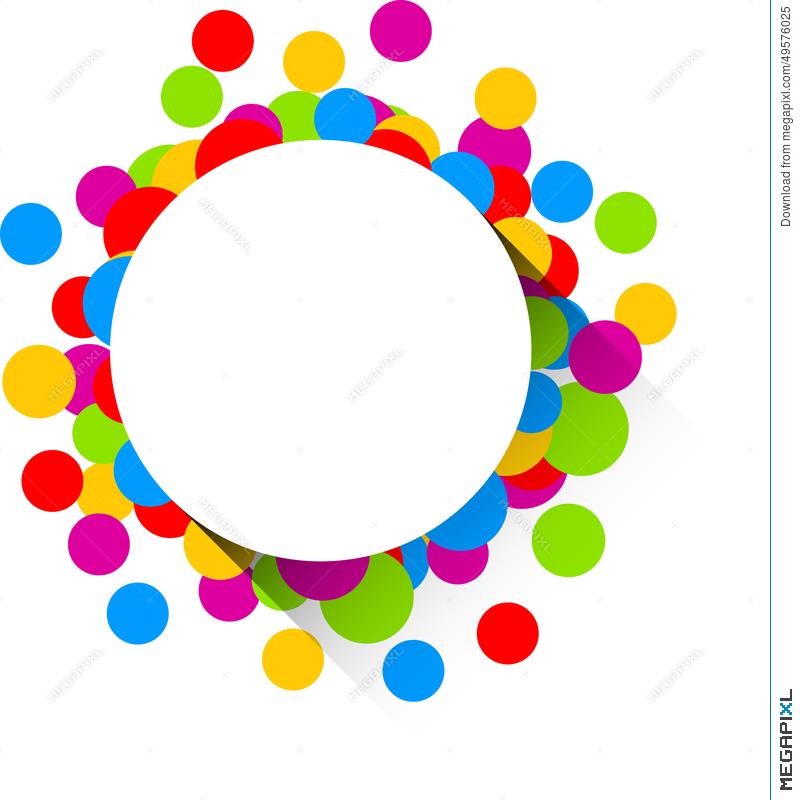 800x800 Confetti Celebration Background. Illustration 49576025