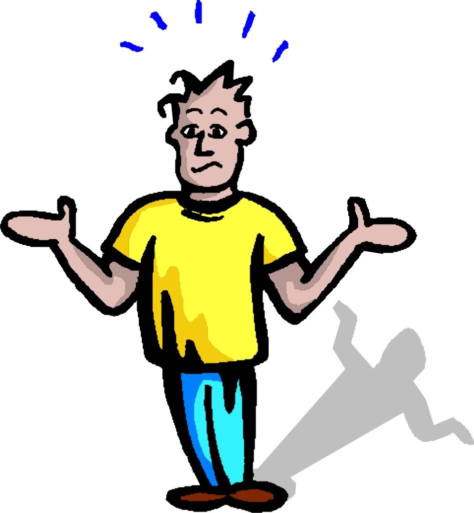 946x1023 Clip art confused guy clipart kid