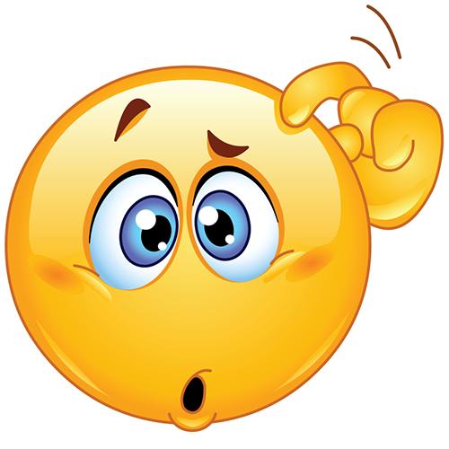 500x500 Confused Smiley Symbols Amp Emoticons