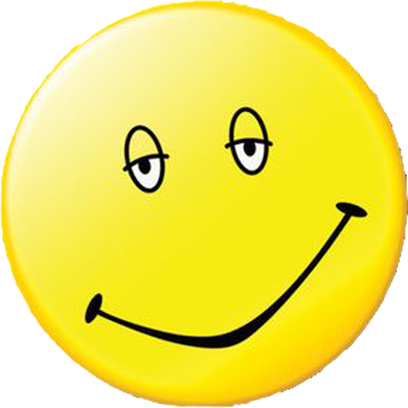 800x800 Dazed And Confused Smiley Face Stickers By Rkillmeyer315 Redbubble