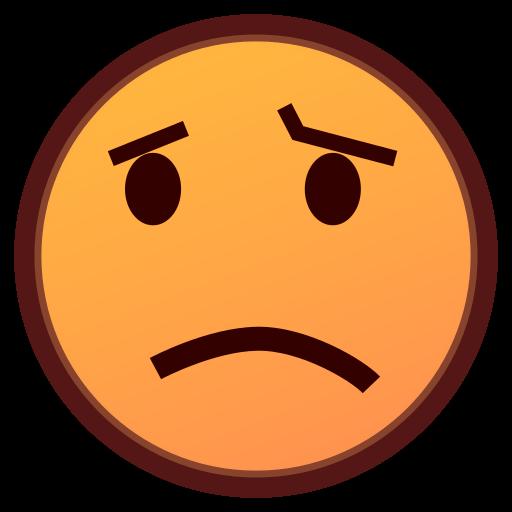 512x512 Confused Face Emoji For Facebook, Email Amp Sms Id  12251 Emoji
