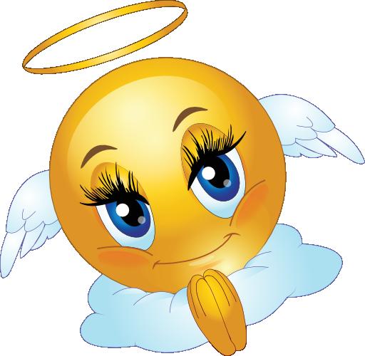 512x500 Facebook Angel Smiley Facebook Emoticons