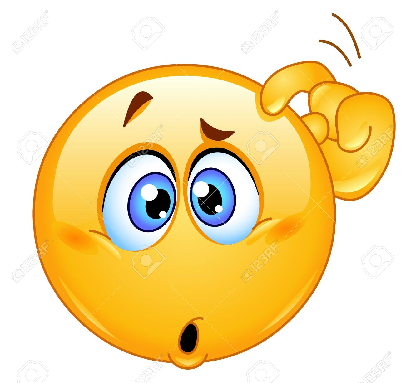 1300x1228 Expression Clipart Confused Face