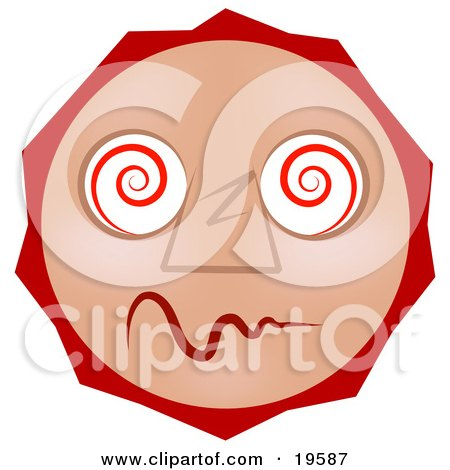 450x470 Unusual Clipart Confused Face
